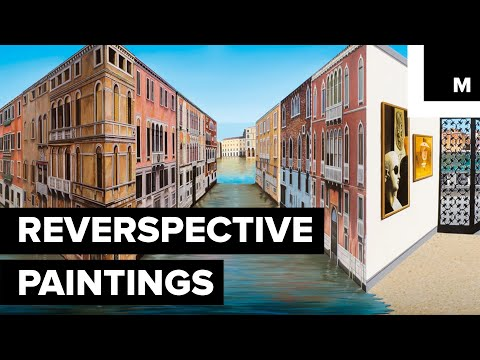 Step Inside This Mind-bending Studio Where Every Painting Is a Mesmerizing Optical Illusion