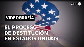 El proceso de destitución en Estados Unidos | AFP Animé