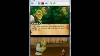 Shrek Forever After on DeSmuME 0.9.6 - Nintendo DS Emulator