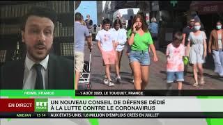 Covid-19 en France : «Il était certain qu'avec le déconfinement le virus se repropagerait»