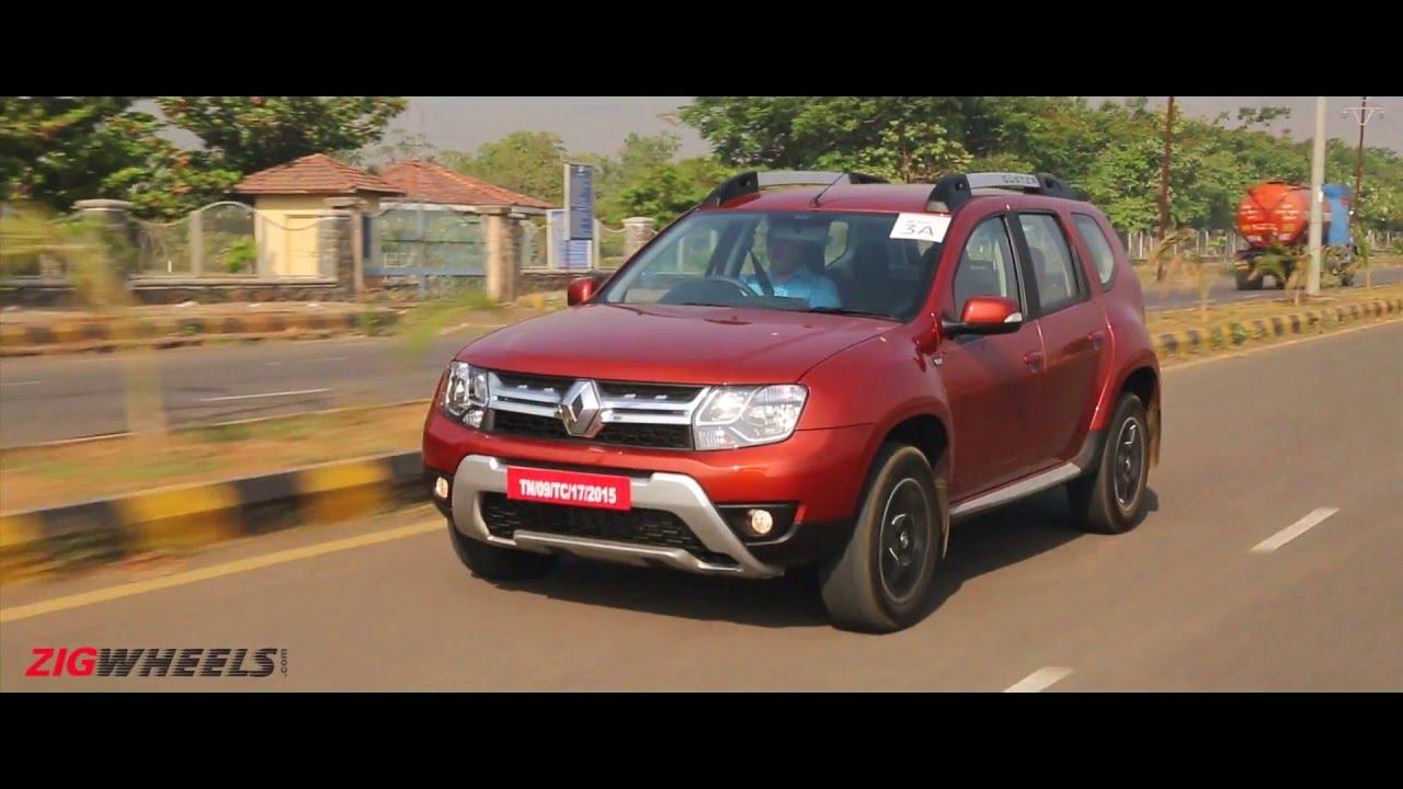 2016 Renault Duster :: Diesel Automatic :: Video Review : ZigWheels India