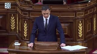 Sánchez, en el Congreso: