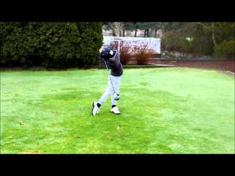 Lucas Ly Golf Swing, Vancouver BC Canada, 6 Years Old; Best Peewee Swing in the World