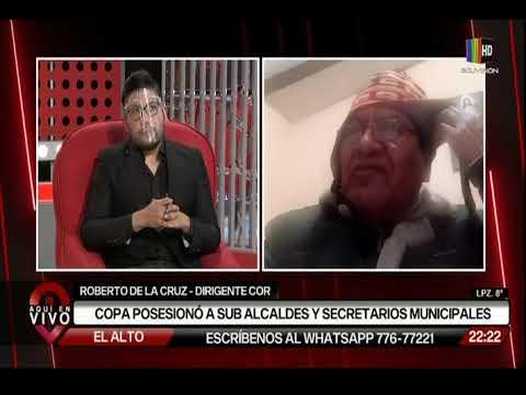 Eva Copa posesionó a sub alcaldes y secretarios municipales