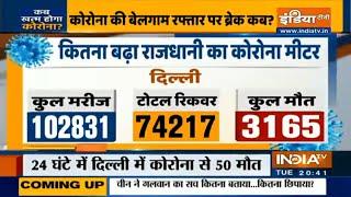 दिल्ली में आज मिले 2008 कोरोना पॉजिटिव; महाराष्ट्र में पिछले 24 घंटे में 5134 मरीज बढ़े - INDIATV