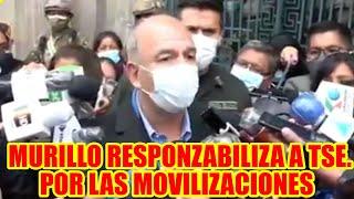 MINISTRO ARTURO MURILLO MENCIONO QUE EL PUEBLO TIENE DERECHO EN MOVILIZARSE..