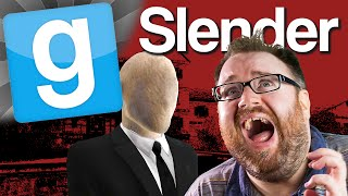 GMod Slender #1 Look Behind You