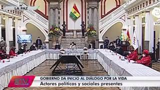 'Bolivia Tv' corta transmisión del diálogo cuando candidata increpa y cuestiona a Jeanine Añez