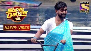 Vaibhav ने लगा दिया है इस Performance में Funny Twist!   Super Dancer   Happy Vibes - SETINDIA