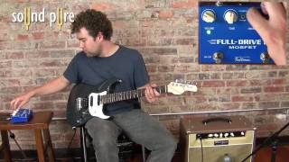 Fulltone Full Drive 2 Mosfet Pedal Demo at Sound Pure