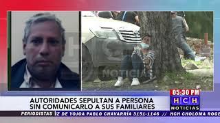 Autoridades sepultan una persona victima de covid19 sin comunicarle a la familia