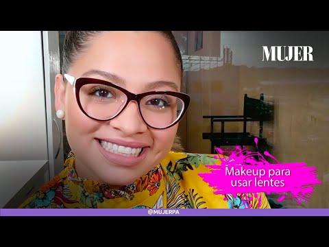 Cómo maquillarte si usas lentes | Mujer
