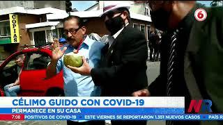 Célimo Guido confirmó haberse contagiado de Covid 19