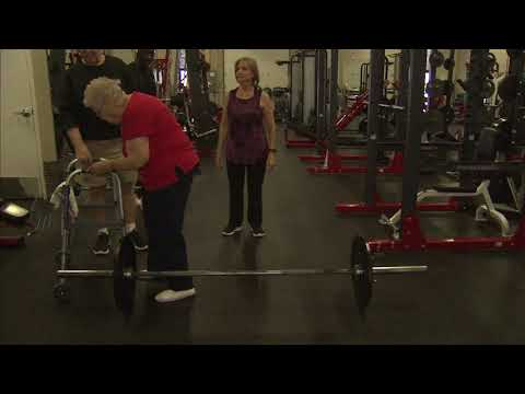 connectYoutube - Napa woman, 92, is oldest weightlifter