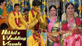 Nikhil Siddharth Pallavi Marriage Exclusive Wedding Visuals With Near and Dear People | IG Telugu - IGTELUGU