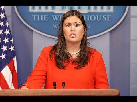 🔴WATCH LIVE: White House Press Briefing w/ Sarah Sanders - 5/11/18