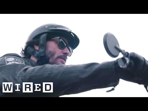 connectYoutube - Inside Keanu Reeves' Custom Motorcycle Shop | WIRED