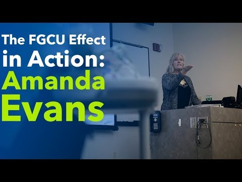 The FGCU Effect in Action: Amanda Evans