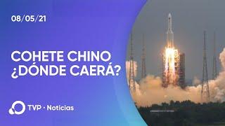 Un cohete chino fuera de control mantiene en vilo al mundo: ¿dónde caerá