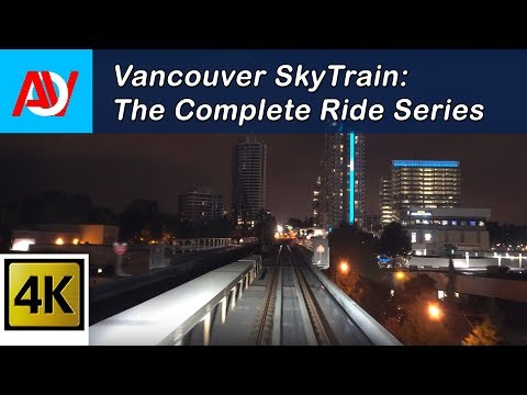 Vancouver SkyTrain: Canada Line Inbound Pt.1, YVR to King Edward - The Complete Ride 4K