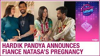 Cricketer Hardik Pandya to become father soon, announces fiance Natasa Stankovic's pregnancy - ZOOMDEKHO