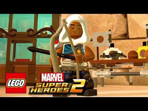 LEGO Marvel Super Heroes 2 - How To Make Bayek Of Siwa (Assassins Creed: Origins)