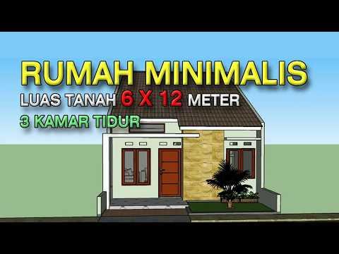 Desain Rumah Minimalis 5 X 12 Meter