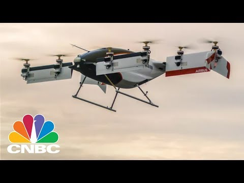 Airbus' 'Flying Taxi' Takes To The Skies For The First Time | CNBC