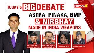 Astra, Pinaka, BMP & Nirbhay | Made in India Weapons | NewsX - NEWSXLIVE