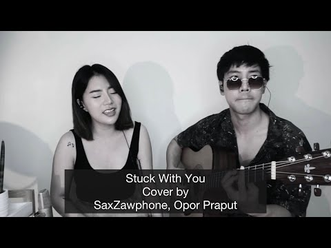 Stuck-With-You---cover-by-SaxZ