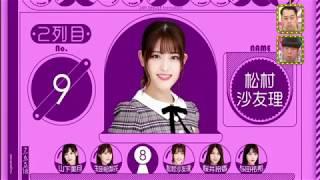 乃木坂46 選抜『24thシングル選抜発表【乃木坂46】』などなど