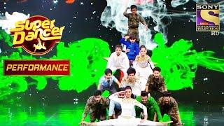 Participants' Group Performance On 'Rang De Basanti' Sends Down Chills | Super Dancer Chapter 2 - SETINDIA