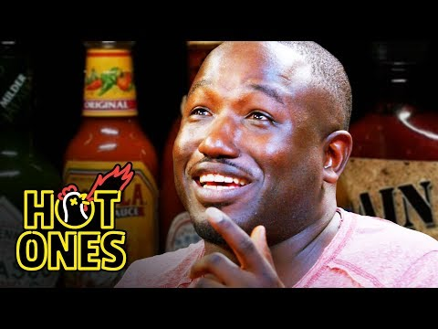connectYoutube - Hannibal Buress Freestyles While Eating Spicy Wings | Hot Ones
