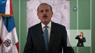 #ATENCION Mensaje a la Nacion del Presidente Danilo Medina