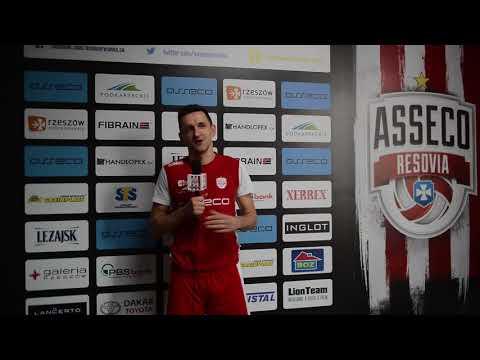 Paweł Rusek przed meczem ze Stocznią Szczecin
