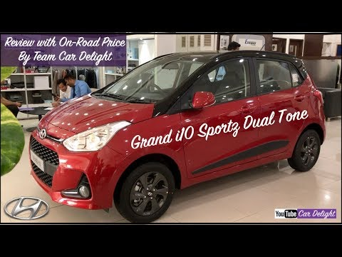 Grand i10 2018 Sportz Dual Tone Review With On Road Price | Grand i10 Sportz Dual Tone