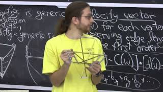 Lecture 12: Tensegrities & Carpenter's Rules
