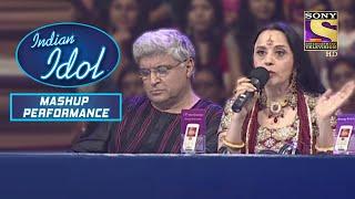 Ila और Javed जी को लगते हैं Amit वाक़ई  में Talented   Indian Idol   Mashup Performance - SETINDIA