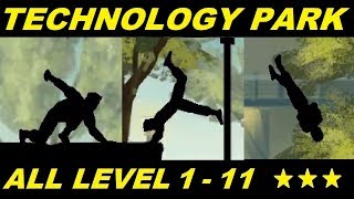 Vector Full - All Level 1 - 11 Technology Park Story Classic Mode HD (All 3 Stars) Ending !?