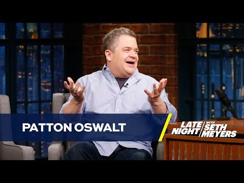 Adults Ruined Patton Oswalt's Local Halloween Haunted House