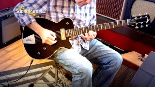 Grez Guitars The Mendocino Black Top Electric Guitar—Quick 'n' Dirty