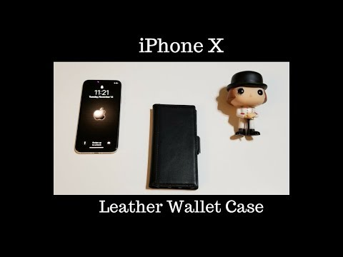 iPhone X : Best Leather Wallet Case