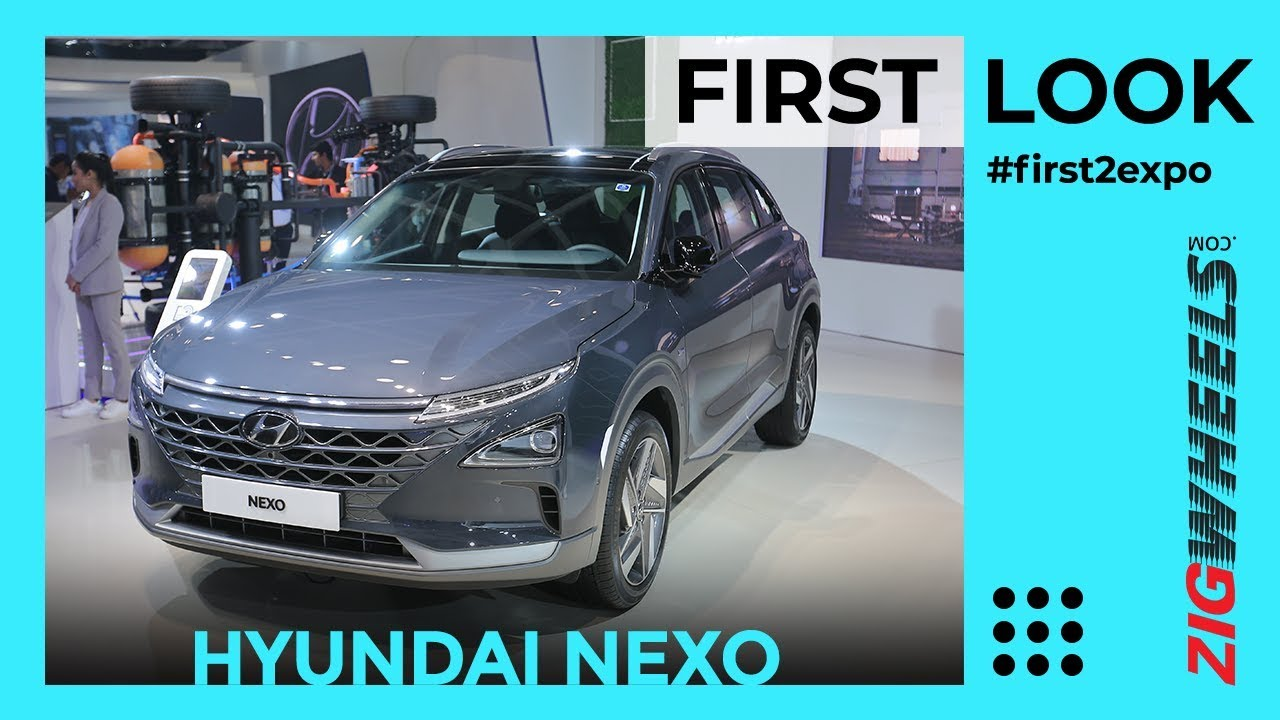 Hyundai Nexo India First Look | Hydrogen Power! | Auto Expo 2020