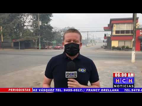 ¡Contaminación! Humo del crematorio municipal invade la ciudad de Tocoa