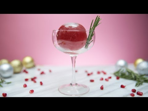 connectYoutube - Impress Your Guests With This Cocktail-Filled Ice Ball!