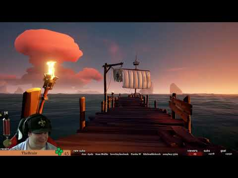 Sea of Thieves 🔴 My Boat Is Flipping Out | Sailing the High Seas | PC Gameplay 1080p 60fps
