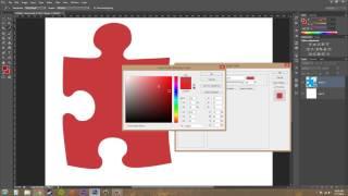 Photoshop CS6 Tutorial - 170 - Color Overlay