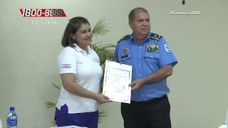 13 títulos de propiedad son entregados a la Policía Nacional - Nicaragua