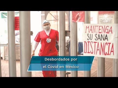 """Covid México. Del """"domar"""" la pandemia a los 185 mil muertos"""