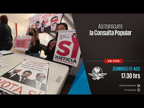 Así transcurre la Consulta Popular en la Ciudad de México